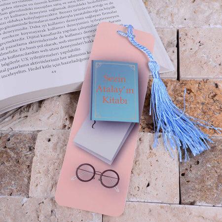 - Kitap Tasarımlı Kitap Ayracı