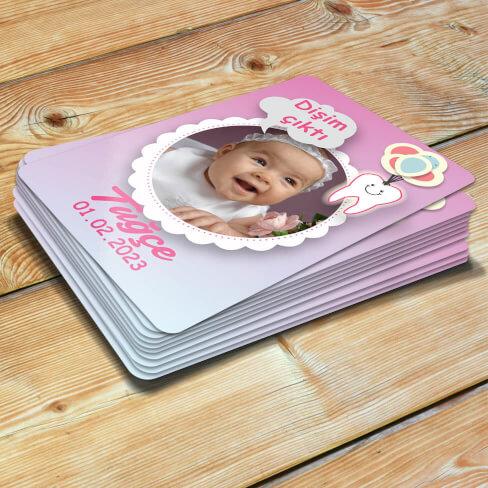 Tisho - Kız Bebekler İçin Diş Buğdayı Magneti