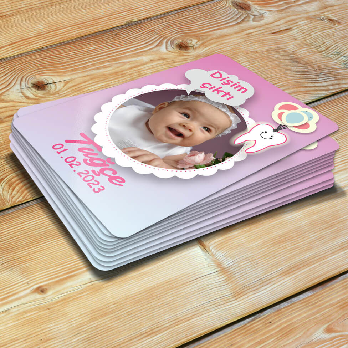 Kız Bebekler İçin Diş Buğdayı Magneti