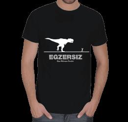 MY - Komik Egzersiz Tasarımlı Erkek Tişört