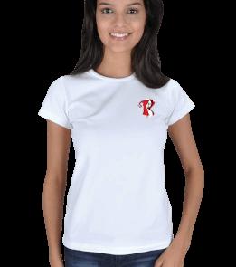 hayaleturkcom - Korkutan hayalet Kadın Tişört