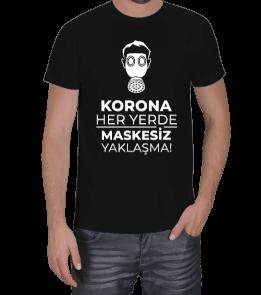 RAR - Korona Her yerde Erkek Tişört
