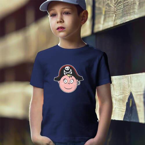 Tisho - Korsan Erkek Çocuk Tişört - Tekli Kombin