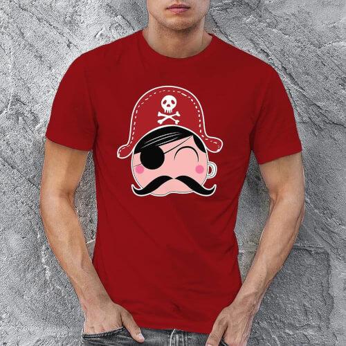 Tisho - Korsan Erkek Tişört - Tekli Kombin (1)