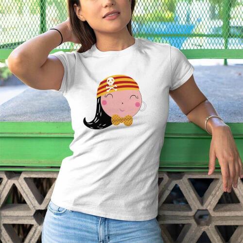 Tisho - Korsan Kadın Tişört - Tekli Kombin (1)