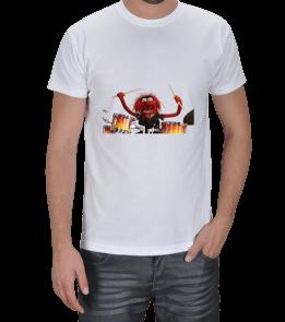 keep it simple - Kukla bateri Erkek Tişört