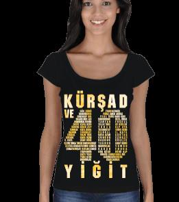 Göktürkler - Kür Şad ve 40 Yiğit Kadın Açık Yaka