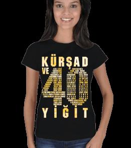 Göktürkler - Kür Şad ve 40 Yiğit Kadın Tişört