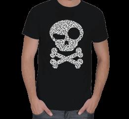 SrdSzr Tasarım - Kuru kafa tehlike Erkek Tişört