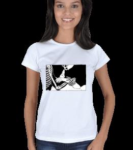 Way Of Art. - Kuru Kafa Ve Kadın Kadın Tişört