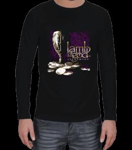 mk1500 Shop Tişört 5 - Lamb Of God Erkek Uzun Kol