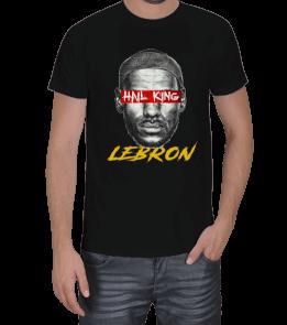Turuncu Oda Tasarım - LeBron James Baskılı Erkek Tişört