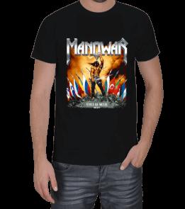 metalkafa1500 - Manowar Erkek Tişört