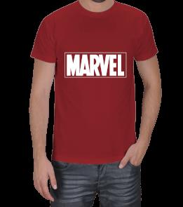 Geek-Shirt - MARVEL T-Shirt Kırmızı Erkek Tişört