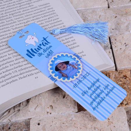Mavi Diş Buğdayı Kitap Ayracı