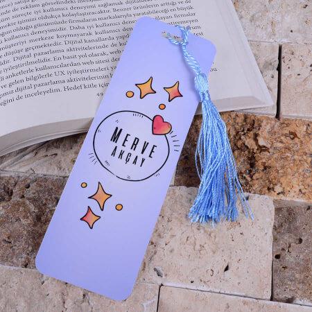 - Mavi Kitap Ayracı