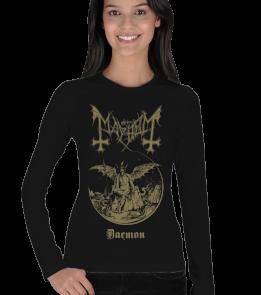 mk1500 Shop Tişört 5 - Mayhem Kadın Uzun Kol