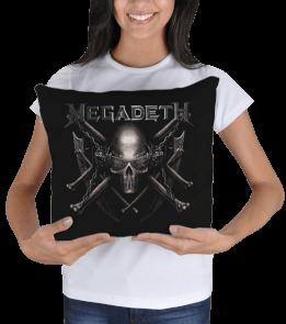 yastık1 - Megadeth Kare Yastık