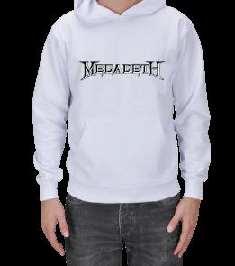 Taaarım.com - MEGADETH SWEATSHİRT Erkek Kapşonlu
