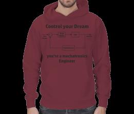 mekatronik - Mekatronik Erkek Kapşonlu Control Tasarımı Erkek Kapşonlu