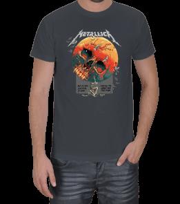 FEK TASARIM - Metallica Baskılı Erkek Tişört