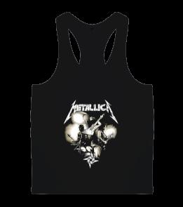 mk1500spor - Metallica Erkek Body Gym Atlet