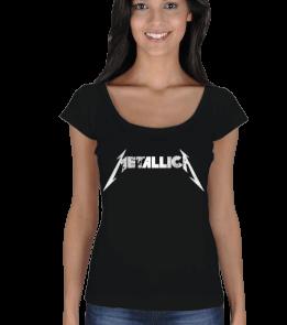 Licer - Metallica Kadın Açık Yaka