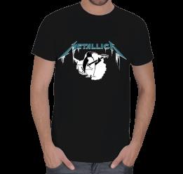Licer - Metallica Penguen Erkek Tişört