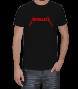 X SHIRT - Metallica Red Erkek Tişört