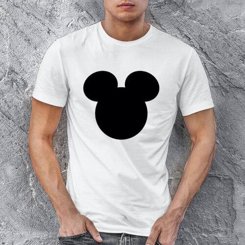 Mickey Mouse Erkek Kısa Kol Tişört - Tekli Kombin - Thumbnail