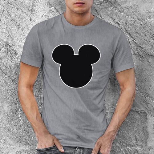 Mickey Mouse Erkek Kısa Kol Tişört - Tekli Kombin