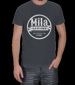 Oscar Sierra - Mila Guitars Erkek Tişört