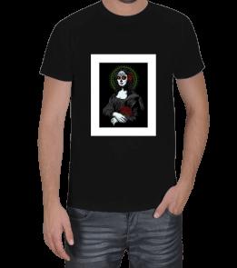 her şey dahil - Mona Lisa Erkek Tişört