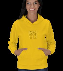 Ms Art Tasarım - MOOD Kadın Kapşonlu