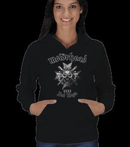 mk1500 Shop Tişört 5 - Motörhead Kadın Kapşonlu