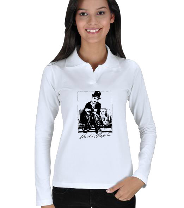 Ms Art Tasarım - MS 1405 CHARLİ CHAPLİN Uzun Kol Polo Yaka