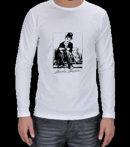 Ms Art Tasarım - MS 2402 CHARLİ CHAPLİN Erkek Uzun Kol