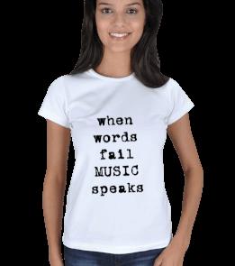 Asianfireflies Shop - MUSIC Kadın Tişört