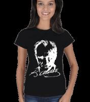 NSA - Mustafa Kemal Atatürk Kadın Tişört