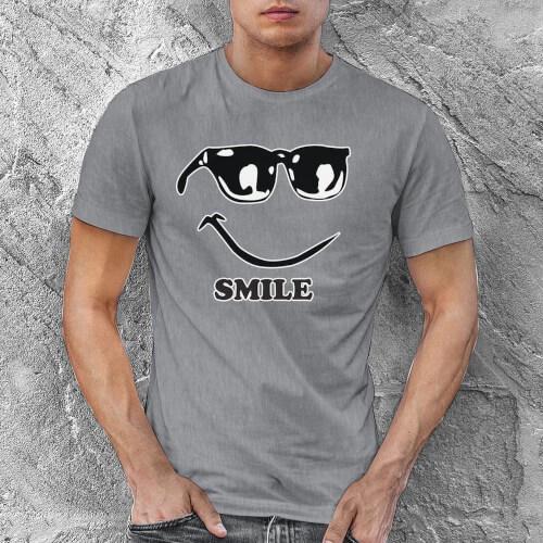 Mutlu Erkek Tişört - Tekli Kombin - Thumbnail
