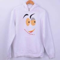 - My Valentine Kışlık Sweatshirt - S Beden, Beyaz