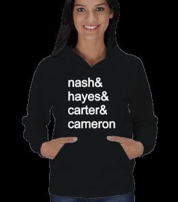 internet fashion - Nash Hayes Carter Cameron Kadın Kapşonlu