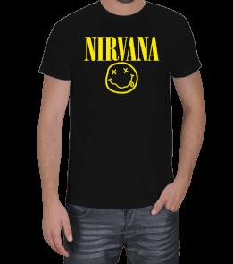 Pro Wrestling Movies - Nirvana logo Erkek Tişört