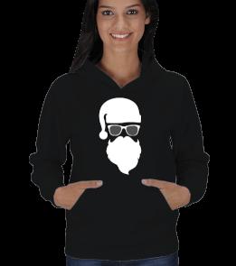 TheEmperor - Noel Baba Tasarımlı Kadın Kapşonlu