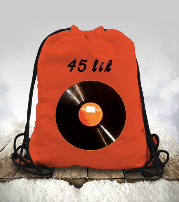 Design Shop - Nostalji Büzgülü spor çanta