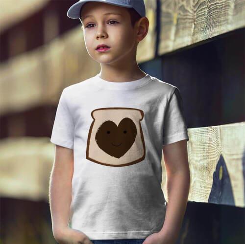 Tisho - Nutella Erkek Çocuk Tişört - Tekli Kombin