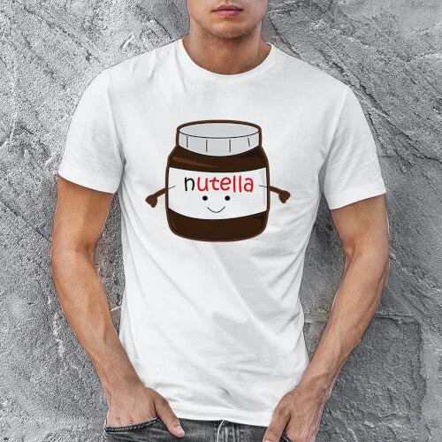 Tisho - Nutella Erkek Tişört - Tekli Kombin