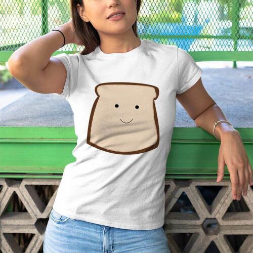 Tisho - Nutella Kadın Tişört - Tekli Kombin