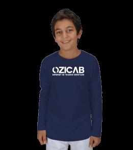 Ozicab Logolu Çocuk Unisex Uzunkollu