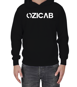 Ozicab Web Design - Ozicab Logolu Erkek Kapşonlu